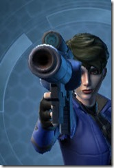 Mandalorian's Blaster Pistol MK-1 Front