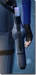 Mandalorian's Blaster Pistol MK-1 Stowed