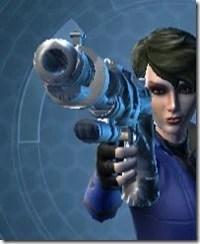 Rishi's Blaster Pistol MK-1 Front