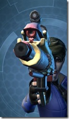 Exarch's Blaster Pistol MK-2 Front
