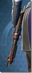 Exarch's Polesaber MK-2 Stowed