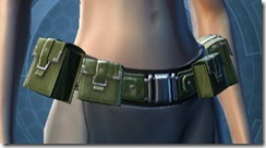 Mandalorian Tracker Belt