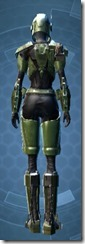 Mandalorian Tracker - Female Back