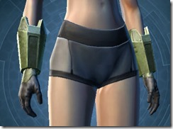 Mandalorian Tracker Gauntlets