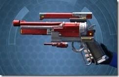 Zakuulan's Blaster Pistol MK-2 Left