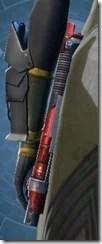 Zakuulan's Lightsaber MK-2 Stowed