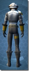 Combat Engineer - Male Back
