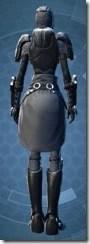Calculated Mercenary - Female Back