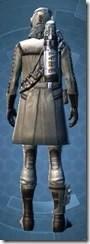 Nomadic Gunslinger - Male Rear