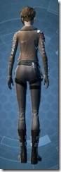 Corellian Pilot - Female Rear