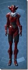 Crimson Talon Female Front