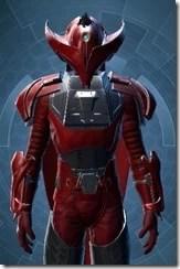 Crimson Talon Male Close