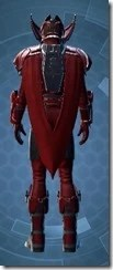 Crimson Talon Male Rear
