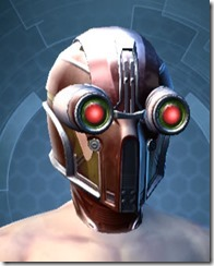 Experimental ossan Force-Master's Headgear