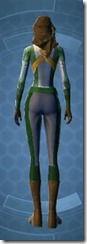 Intelligence Agent Female Rear