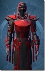 Sinister Warden Male Close