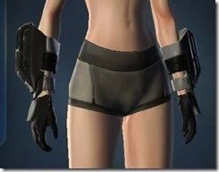 Amplified Champion's Gauntlets - Female