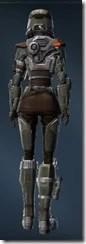 Holoshield Trooper - Female Rear
