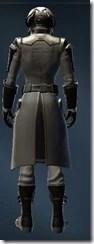 Intelligence Agent Male Rear