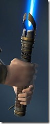Arn's Unshielded Lightsaber Rear