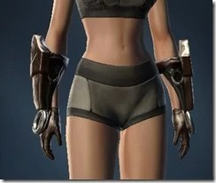 Dashing Blademaster's Gauntlets - Female