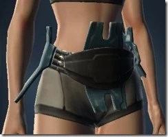 Shadow Purger's Belt - Female