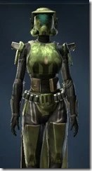 Veteran Ranger Female Close