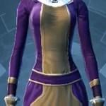 Dark Purple and Pale BrownDye Module
