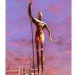 Statue of the Spearman