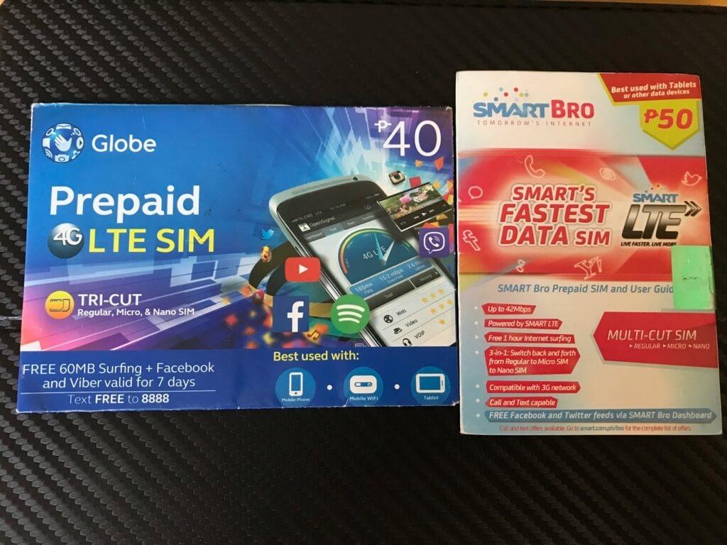 フィリピンのSIMカード
