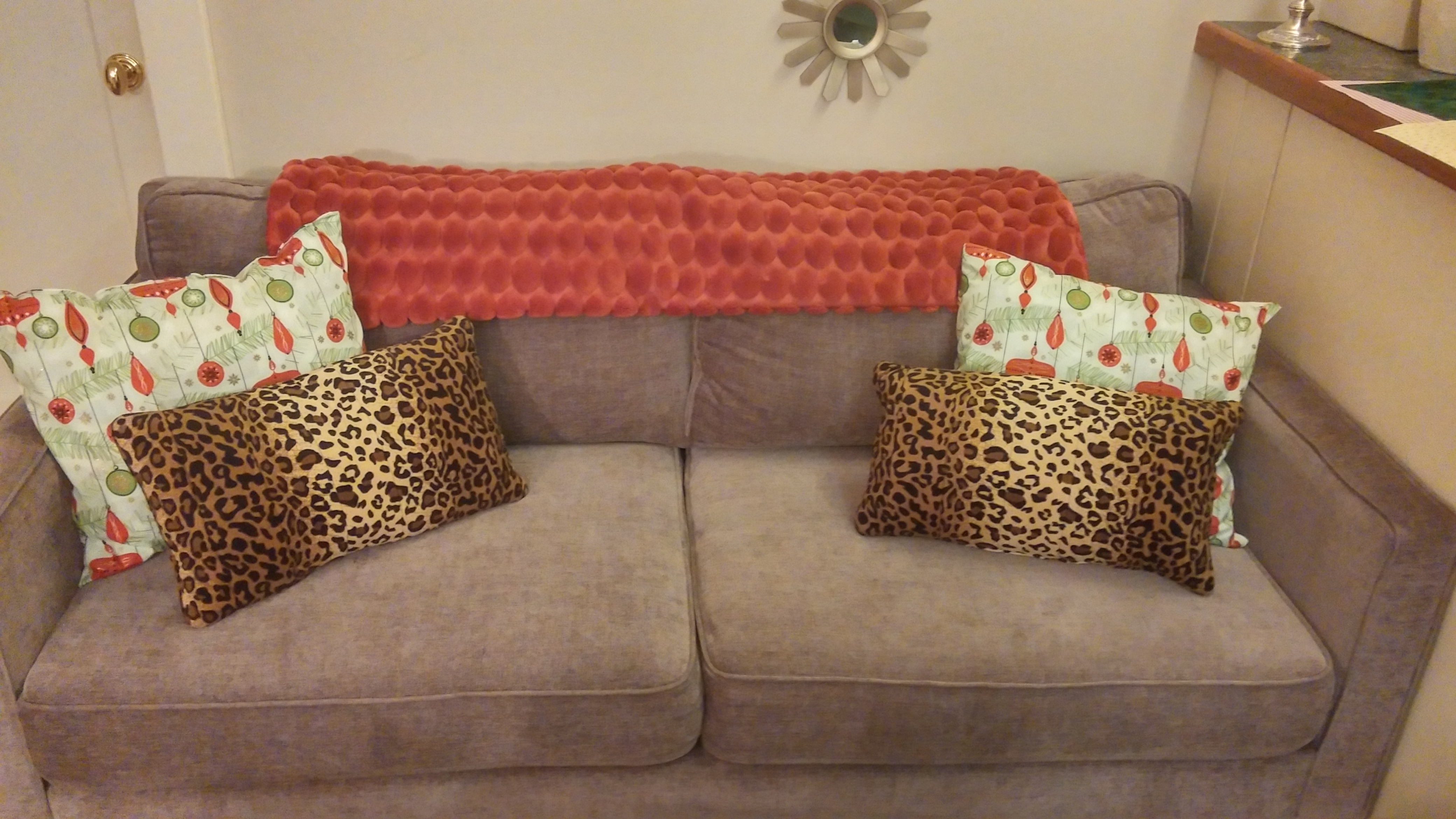 best way to fix a sofa bed george christmas couch  2 ways torie and tristan