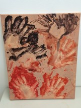 This is my version of cave hand prints