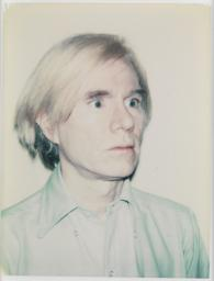 Self-Portrait in Blue Shirt 1977-8 Andy Warhol 1928-1987 ARTIST ROOMS Acquired jointly with the National Galleries of Scotland through The d'Offay Donation with assistance from the National Heritage Memorial Fund and the Art Fund 2008 http://www.tate.org.uk/art/work/AR00304