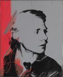 Self-Portrait 1978 Andy Warhol 1928-1987 ARTIST ROOMS Acquired jointly with the National Galleries of Scotland through The d'Offay Donation with assistance from the National Heritage Memorial Fund and the Art Fund 2008 http://www.tate.org.uk/art/work/AR00501