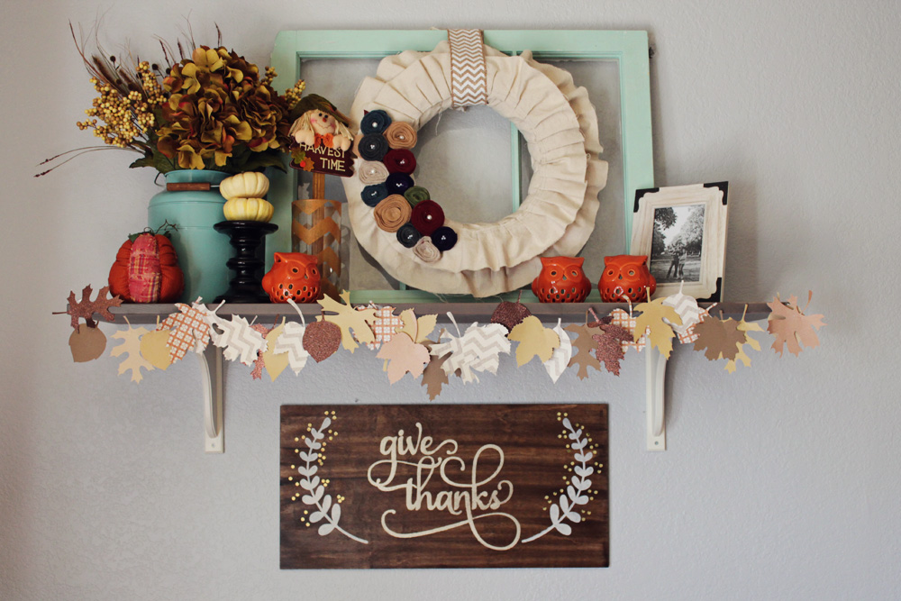Fall Decorating Review and Fantle Reveal