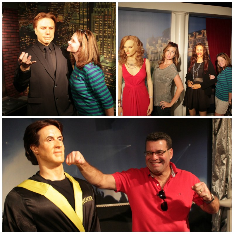 Hollywood Wax Museum Family Fun