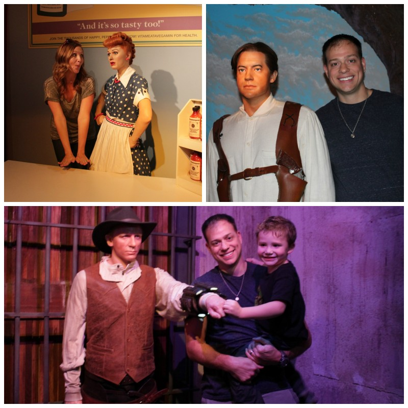Family Fun at Hollywood Wax Museum
