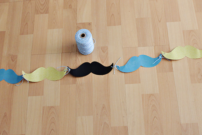 Mustache Party Banner | Lil' Mrs. Tori
