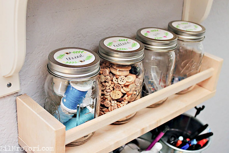 Sewing storage | Lil Mrs Tori