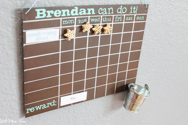 DIY Magnetic Reward Chart