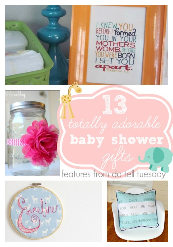 13 Totally Adorable Baby Shower Gifts - Lil Mrs Tori