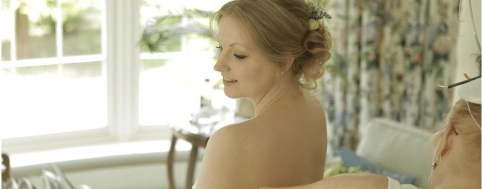 Wedding Hair and Makeup Tori Harris Rectory Farm Cambridge