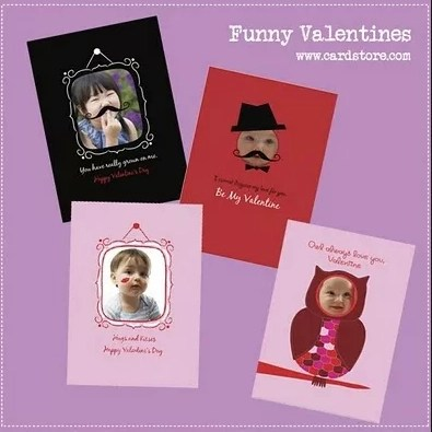 Assorted Photo Valentine