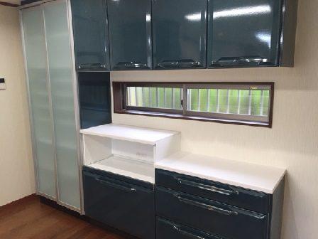 キッチンリフォーム 垂水区 カップボード
