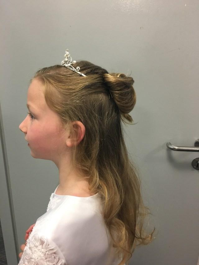 communion hairstyles step by step – tori keane