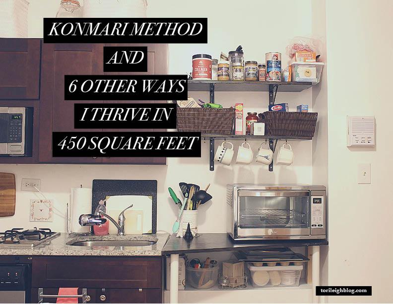 KonMari Small Space Organization