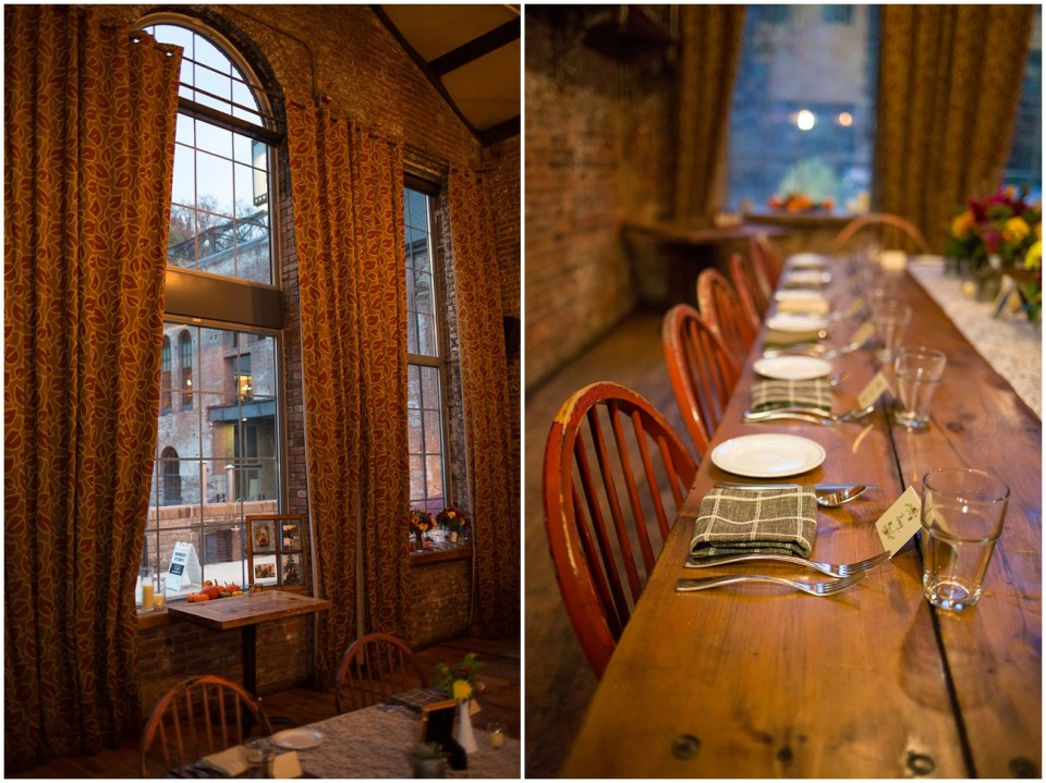 in the lovely woodberry hall at woodberry kitchen in baltimore md it was a beautiful and intimate evening full of gorgeous fall details - Woodberry Kitchen Baltimore