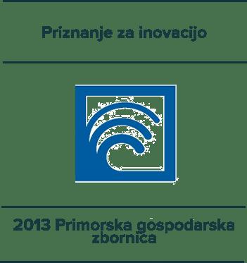 Priznanje za inovacijo - 2013 Primorska gospodarska zbornica