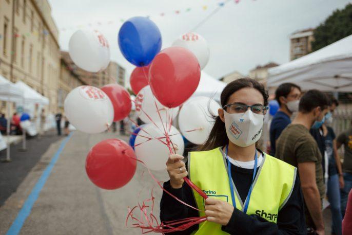 un grande aiuto da parte dei volontari, alte turnazioni per garantire standard di sicurezza anche per loro
