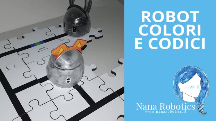 Robot, colori e codici